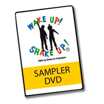 Wake Up Shake Up - DVD - Sampler